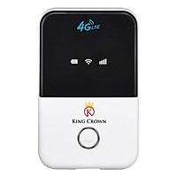 Bộ Phát Wifi Từ Sim 3G Hoặc 4G King Crwon MF903 (Trắng) - Hàng Nhập Khẩu