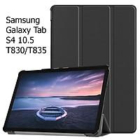 Bao Da Cover Dành Cho Máy Tính Bảng Samsung Galaxy Tab S4 10.5 T830 / T835 Hỗ Trợ Smart Cover