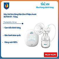 Máy Hút Sữa Bằng Điện Đơn Philips Avent SCF301/01 - Trắng