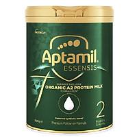 Sữa công thức hữu cơ APTAMIL ESSENSIS ORGANIC A2 PROTEIN MILK PREMIUM FOLLOW-ON FORMULA 900g (Số 2 cho bé từ 6-12 tháng tuổi)