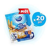 Combo 20 Gói Sữa Dinh Dưỡng Ngũ Cốc Dutch Lady Cô Gái Hà Lan