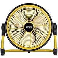 Quạt Sạc AC ARF01D113 BL (10W), Cánh 10 inch - Vàng - Hàng Chính Hãng