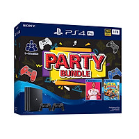 Bộ Ps4 Pro 1Tb Party  Bundle - 2 Tay Cầm - 2 Game Fifa 20 & Crash Team Racing - Chính Hãng