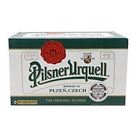 Bia Pilsner Urquell 4,4% Tiệp chai 330ml (Thùng 24 chai) (Tặng trà Macca Nutrition)