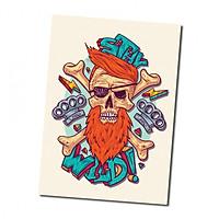 Sticker decal dán tường - BARBER 5