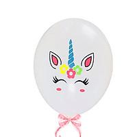 Set 10 bong bóng hình unicorn đáng yêu trang trí phòng cho bé – PA002