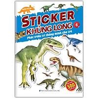 Sticker Khủng Long: Phát Triển Trí Thông Minh Cho Trẻ Tập 4