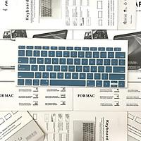 Miếng phủ phím Silicon nhiều màu dành cho Macbook Bản Quốc Tế - Bảo vệ Chống nước, Bụi bẩn