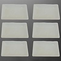 Bộ 6 Đĩa Melamine Cao Cấp Nine Plus ND013 (16x12cm)