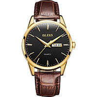 Đồng hồ nam OLEVS-6898 có lịch ngày, phong cách lịch lãm - Hàng chính hãng