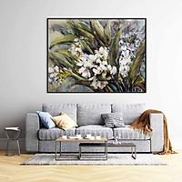 Tranh canvas treo tường hoa nghệ thuật - HC007