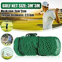 9.8x9.8ft/300x300cm Foldable Golf Training Practice Rope Mesh Driving Practice Hitting Net 2.5mm Diameter Line Hitting Indoor Outdoor Garden