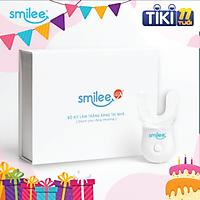 Bộ kit tẩy trắng răng tại nhà Smilee Max - Hàng chính hãng - Không chứa Peroxide - Nhập khẩu USA - Đạt chuẩn ISO 22716:2007