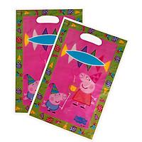 10 túi quà Party gift bag 17 x 25 cm hình heo Peppa
