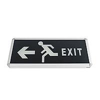 Đèn Exit thoát hiểm một mặt, đen FK-EX01D-1S