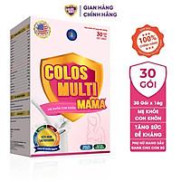 Sữa bột Colosmulti Mama hộp 480g tăng cường sức đề kháng, dưỡng chất cho bà bầu