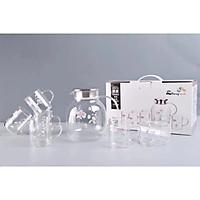 Bộ bình ly nước thủy tinh 7PSC