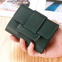 Ví nữ mini cao cấp cầm tay đẹp nhỏ gọn bỏ túi đựng tiền LUKAMO VD238