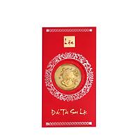 Mặt vàng 24k Kim Sửu Cầm bảng Kèm bao lì xì - AG9992.Q002.01B