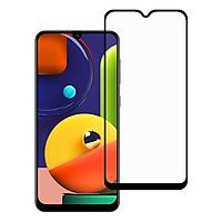 Miếng Dán Kính Cường Lực cho Samsung Galaxy A50S - Full màn hình - Màu Đen - Hàng Chính Hãng