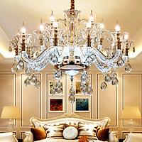 Đèn chùm STYLE 15 tay trang trí nội thất độc đáo - kèm bóng Led chuyên dụng