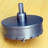 Mũi khoét lỗ kim loại UniFast MCT-110 (Ø110mm) chuyên dùng khoan tủ điện , thép tấm ống chữa cháy