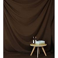 Phông vải đơn sắc caramel 2.9x3m