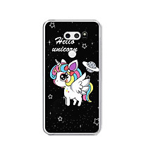 Ốp lưng dẻo cho điện thoại LG V30 - 0360 UNICORN03 - Hàng Chính Hãng