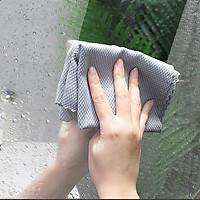 Khăn Lau Đa Năng Loại to 30 x 40 cm Chống Xơ, Thấm Nước Tốt  tiện dụng - Khăn Lau đồ vật đồ dùng gia đình ( Màu ngẫu nhiên)