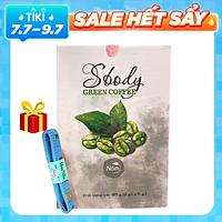 Nấm Hỗ trợ Giảm Cân Sbody Green Coffee - 100% Thiên Nhiên (Hộp 12 gói /180G) Đốt Mỡ và Kiểm Soát Cân Nặng - Tặng Kèm thước dây