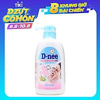 Nước rửa bình sữa D-nee Mild & Care chai 500ml