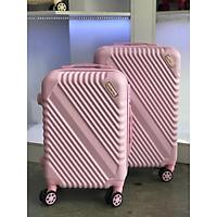 COMBO 2 vali kéo du lịch SUNNY SV05 (Size 20 - 24), nhựa dẻo ABS, chống va đập, chống trầy xước