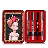 Bộ bút chì vẽ viền mắt sắc màu sành điệu BEAUTY PEOPLE Lofty Girl Doll Eye Special Makeup Set 0.3GR