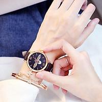 Đồng hồ nữ thời trang zOTIME dây da mặt ong siêu đẹp siêu hót giành riêng cho phái nữ  ZO_87