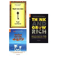 Combo Kĩ Năng Làm Việc - Bộ Full 3 Cuốn Bán Chạy Nhất:  Người Nam Châm - Bí Mật Của Luật Hấp Dẫn +  13 Nguyên Tắc Nghĩ Giàu Làm Giàu - Think And Grow Rich + Tuần Làm Việc 4 Giờ  /Sách Kinh Tế ( Tặng Kèm Bookmark Happy Life)