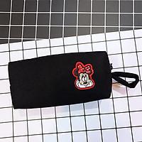 Hộp Bút Vải - Phối Sticker Mickeys