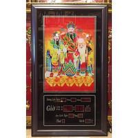 Tranh lịch vạn niên, Phúc Lộc Thọ - 629