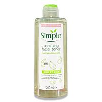 Nước hoa hồng Simple Kind To Skin Soothing Toner 200ml