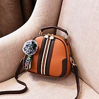 Túi đeo chéo tròn nữ thời trang đi học hàng quảng châu đẹp