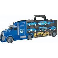 Đồ chơi mô hình VECTO Xe tải nhiều ngăn - Cảnh sát (nhỏ) 666-02K