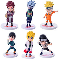 Bộ Mô Hình 6 Nhân Vật Naruto NA01062