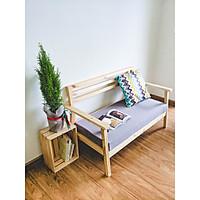 Bộ Bàn Ghế phòng khách gỗ tự nhiên / Combo ghế ngồi sofa, bàn trà tiếp khách trang trí nhà cửa