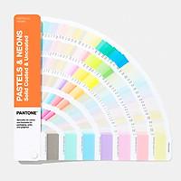 Bộ pantone màu dạ quang, noen dành cho ngành in ấn, bao bì GG1504A - Pastels & Neons Guide   Coated & Uncoated