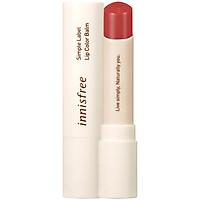 Son Dưỡng Môi Có Màu Innisfree Simple Label Lip Color Balm #2 3.2g - 131171750