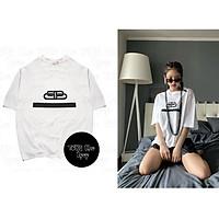 Áo thun phông trắng in hình MÓC XÍCH cheap moment JENNIE BLACKPINK kpop idol thần tượng thời trang nam nữ