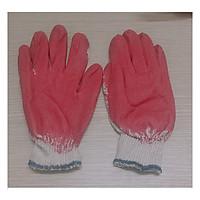 10 đôi Găng Tay Vải Lao Động, Làm Vườn, Chống Cắt, Chống Trơn Trượt, Màu Đỏ - 10 đôi Găng tay sơn đỏ !