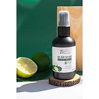 Gel nước rửa tay khô chống khuẩn mềm da The Herbal Skin 80ml