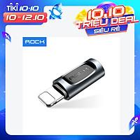 Đầu chuyển nguồn lightning cho iphone ipad Rock type c