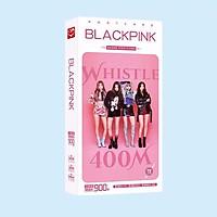 Hộp ảnh Postcard Blackpink whistle 900 ảnh