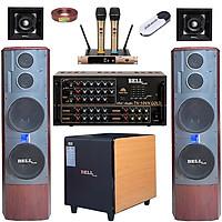 Bộ dàn karaoke gia đình KM - 506N GOLD Bellplus (hàng chính hãng)